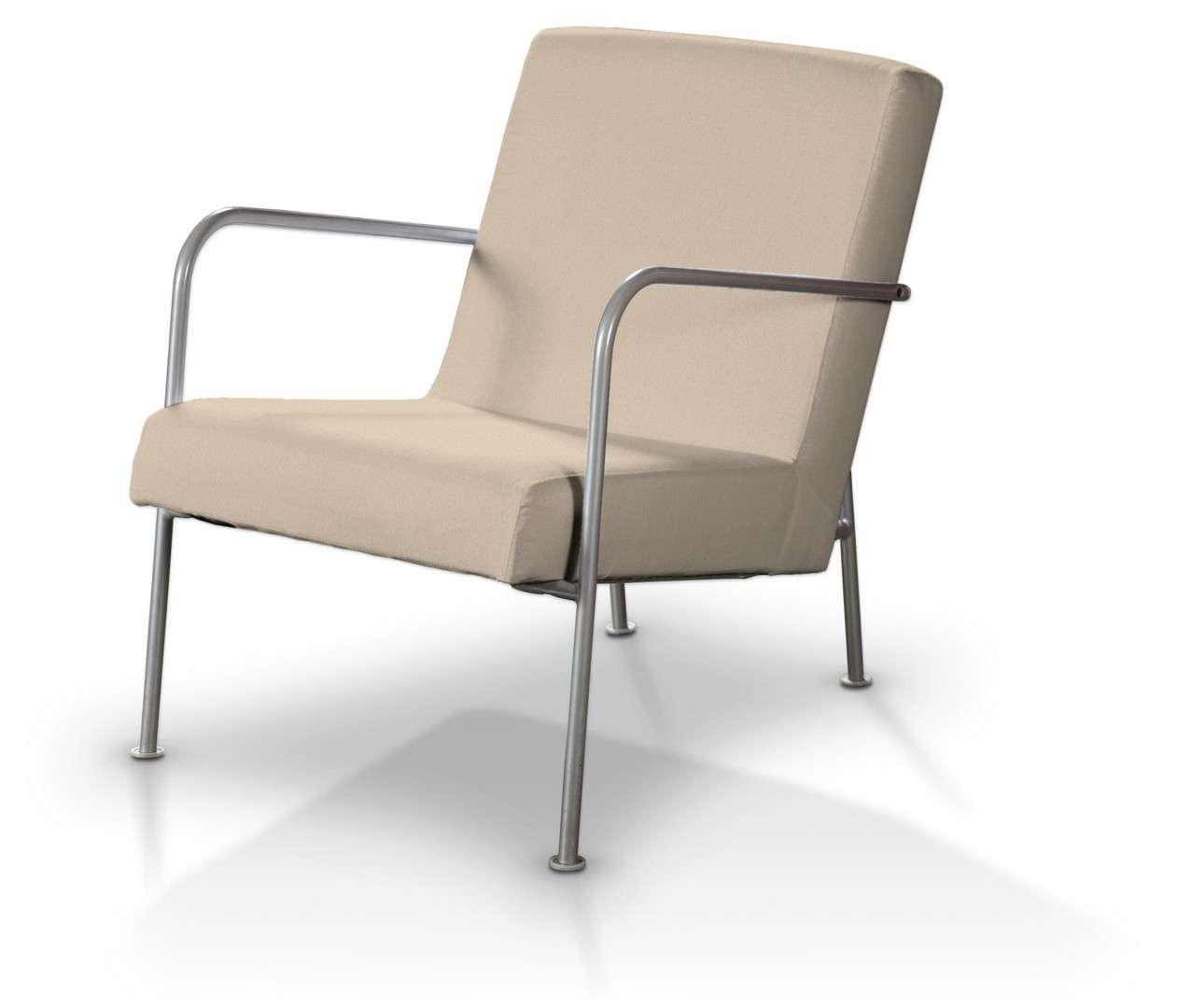 Pokrowiec na fotel Ikea PS w kolekcji Living, tkanina: 160-61