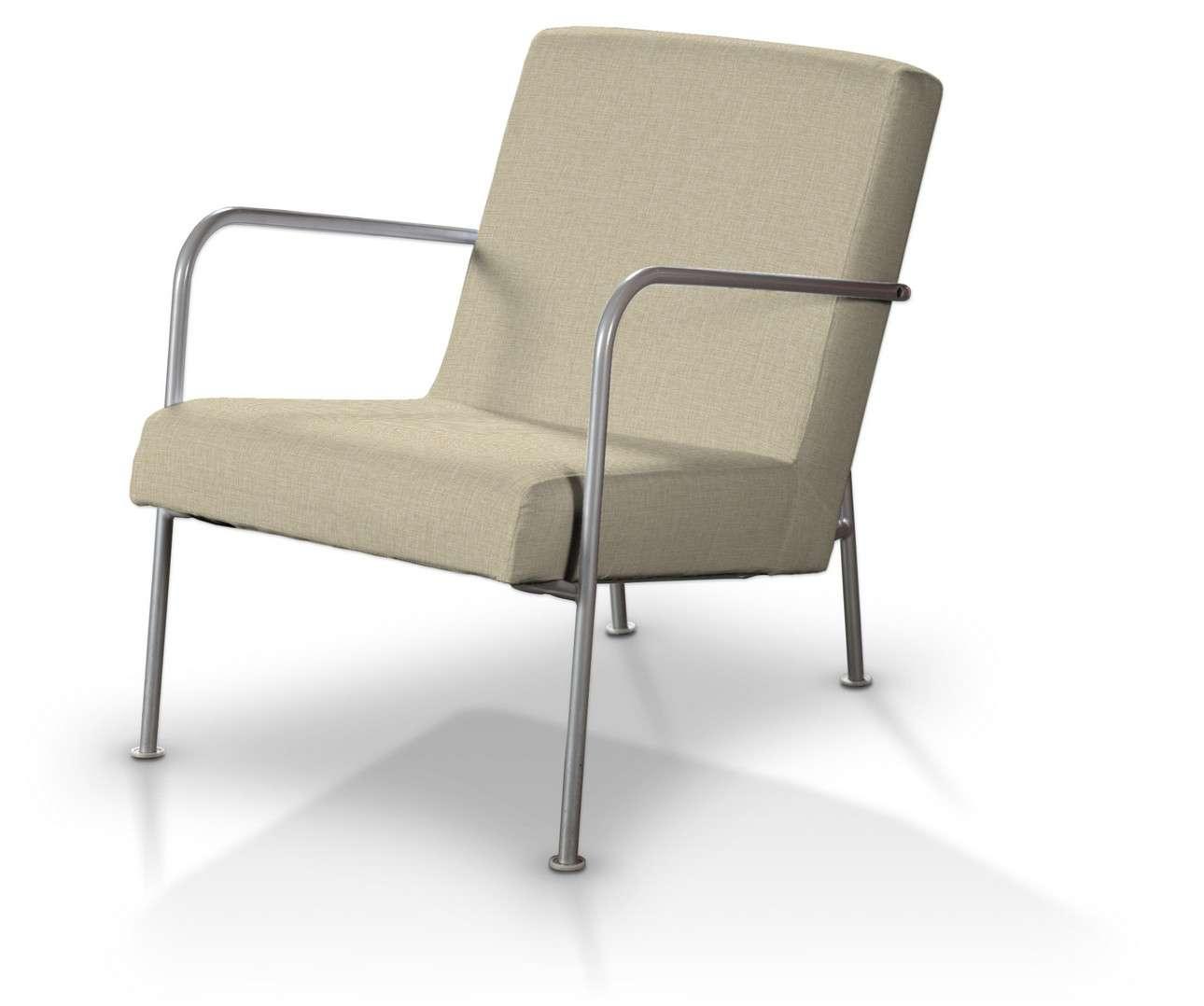 Pokrowiec na fotel Ikea PS w kolekcji Living, tkanina: 161-45
