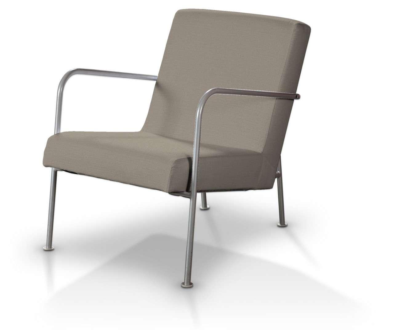 Pokrowiec na fotel Ikea PS w kolekcji Living, tkanina: 161-53