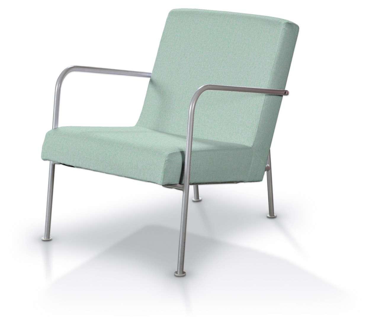 Pokrowiec na fotel Ikea PS w kolekcji Living, tkanina: 161-61
