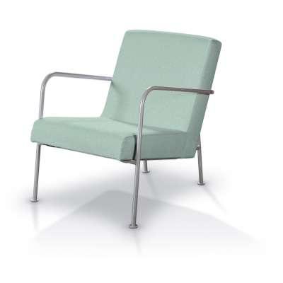 Pokrowiec na fotel Ikea PS 161-61 pastelowy błękit Kolekcja Living