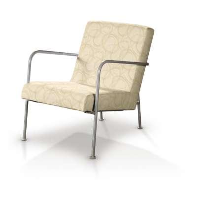 Pokrowiec na fotel Ikea PS w kolekcji Living, tkanina: 161-81