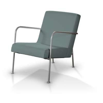 IKEA PS fotelio užvalkalas 702-40 turkio pilkšva Kolekcija Cotton Panama