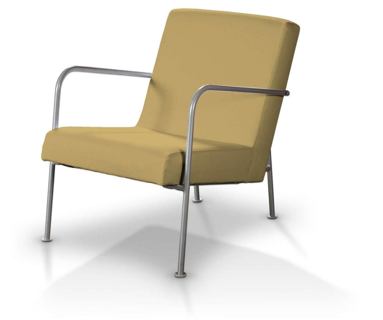 Pokrowiec na fotel Ikea PS w kolekcji Cotton Panama, tkanina: 702-41