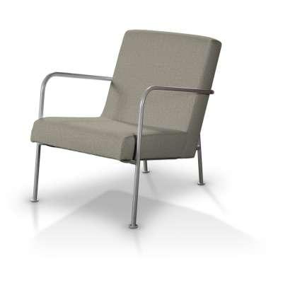 IKEA PS fotelio užvalkalas 704-80 pilkai smėlio spalvos šenilinis audinys Kolekcija City