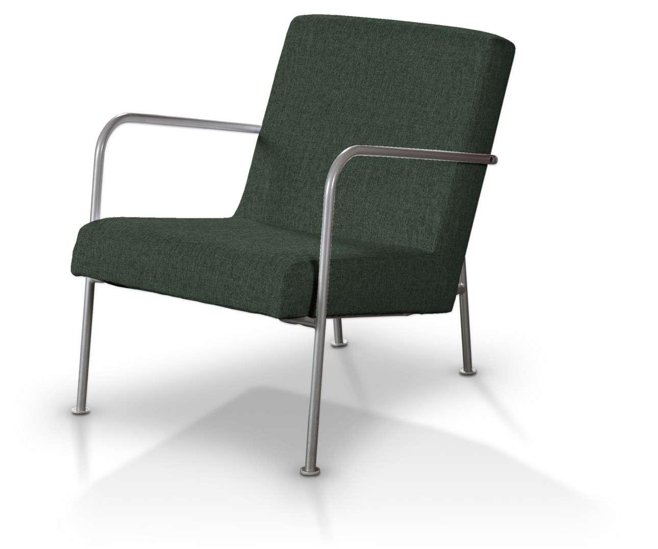 Pokrowiec na fotel Ikea PS w kolekcji City, tkanina: 704-81