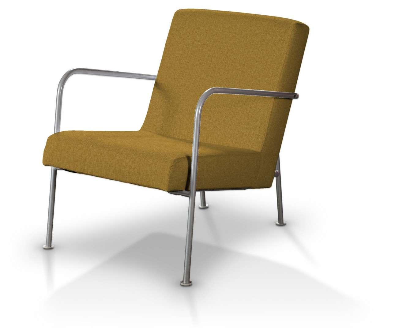 Pokrowiec na fotel Ikea PS w kolekcji City, tkanina: 704-82