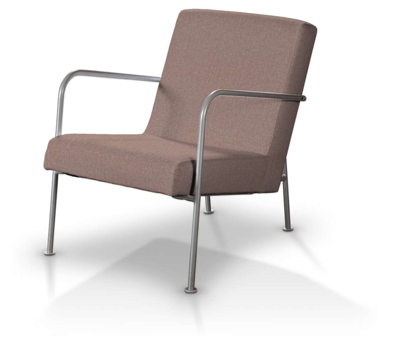 Pokrowiec na fotel Ikea PS w kolekcji City, tkanina: 704-83