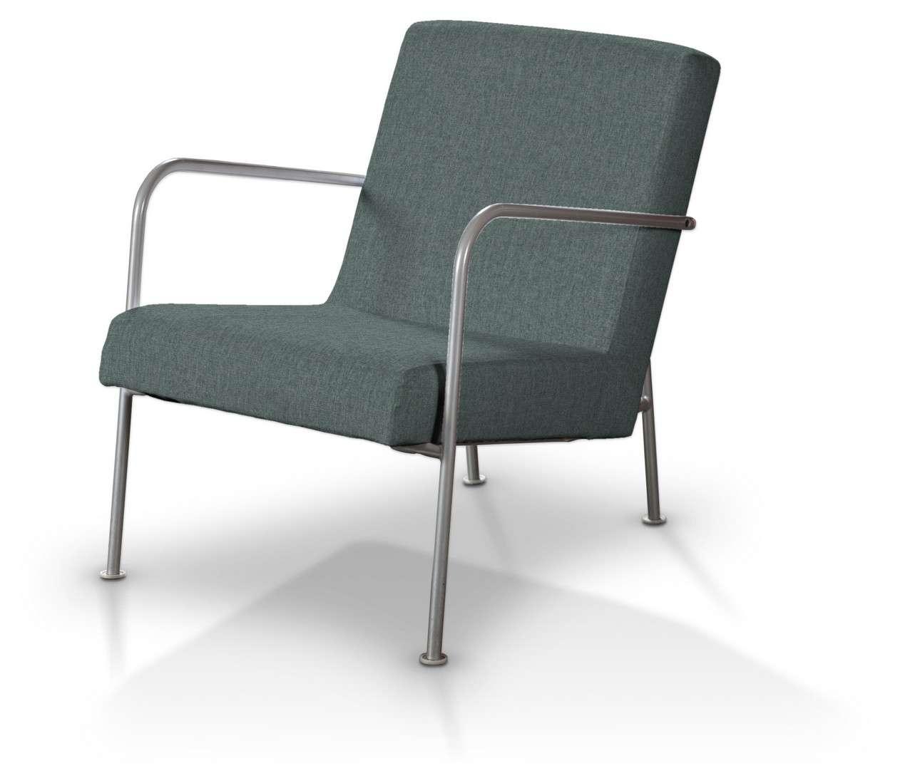 Pokrowiec na fotel Ikea PS w kolekcji City, tkanina: 704-85