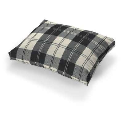 Tylösand cushion cover 115-74 black & white tartan Collection Edinburgh