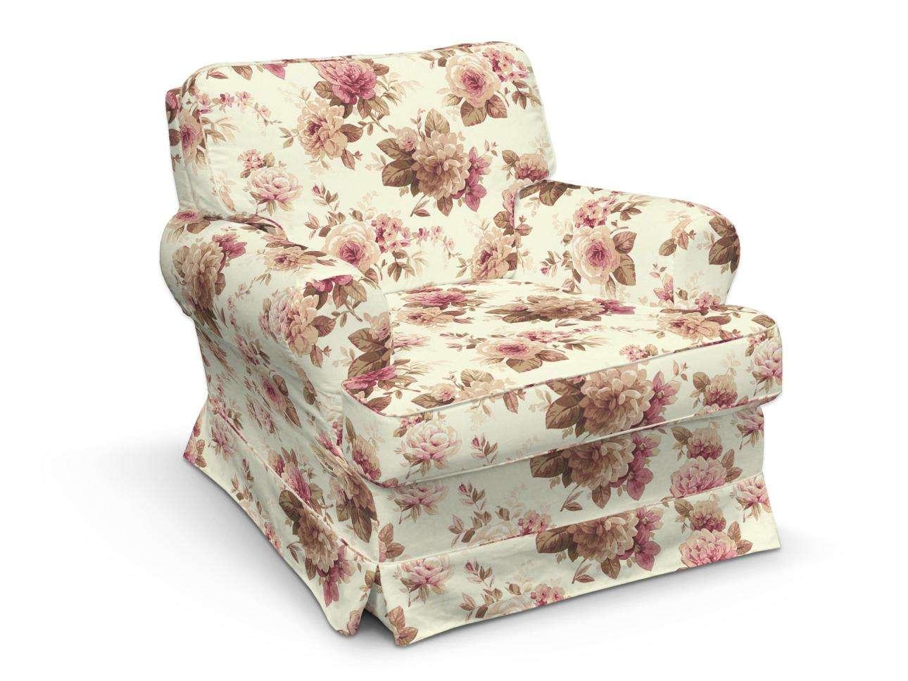 Pokrowiec na fotel Barkaby fotel Barkaby w kolekcji Mirella, tkanina: 141-06