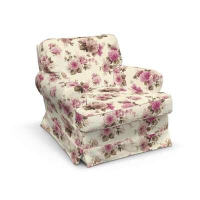 Barkaby fotelio užvalkalas 141-07 gėlės šviesiame fone Kolekcija Londres