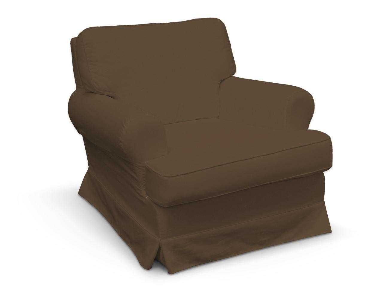Pokrowiec na fotel Barkaby fotel Barkaby w kolekcji Cotton Panama, tkanina: 702-02