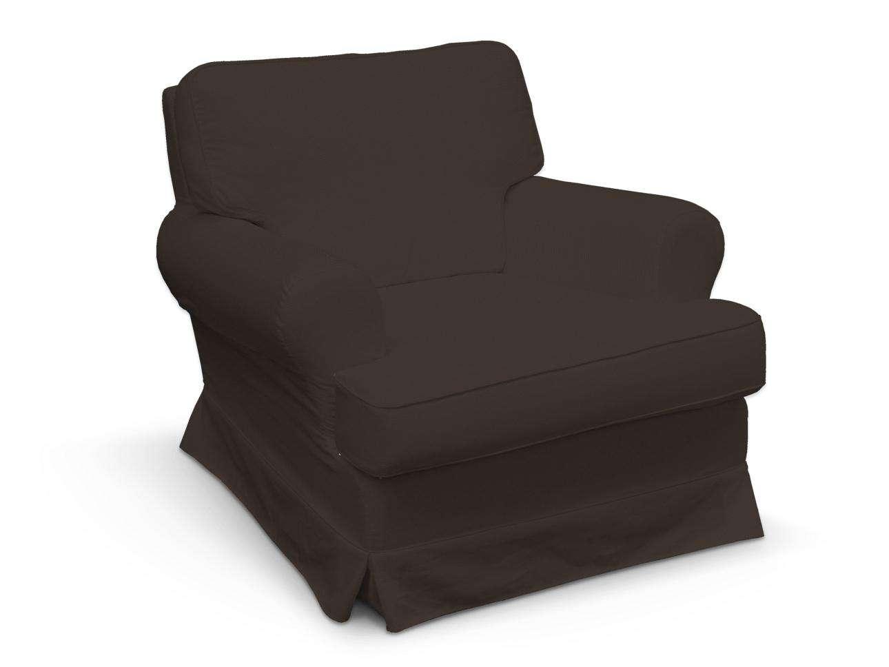 Pokrowiec na fotel Barkaby fotel Barkaby w kolekcji Cotton Panama, tkanina: 702-03