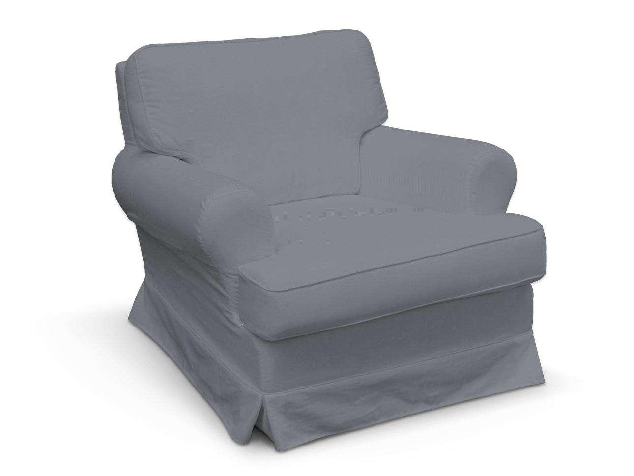 Pokrowiec na fotel Barkaby fotel Barkaby w kolekcji Cotton Panama, tkanina: 702-07