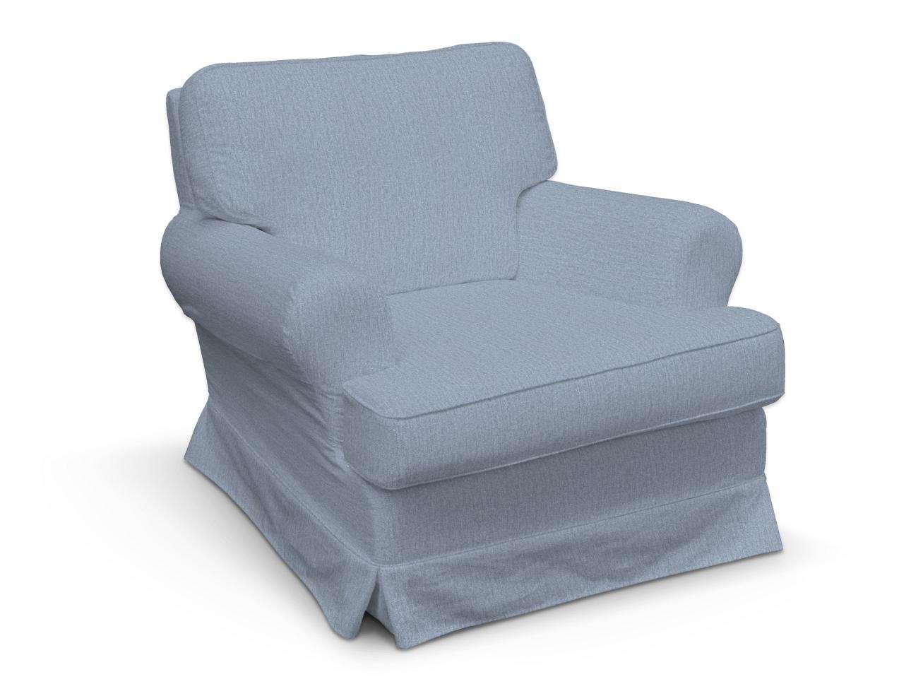 Pokrowiec na fotel Barkaby w kolekcji Chenille, tkanina: 702-13