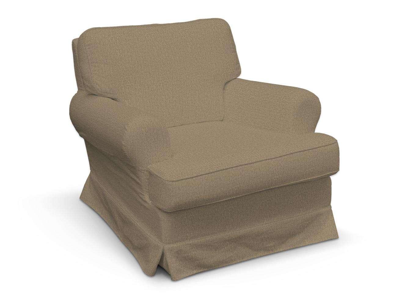 Pokrowiec na fotel Barkaby w kolekcji Chenille, tkanina: 702-21