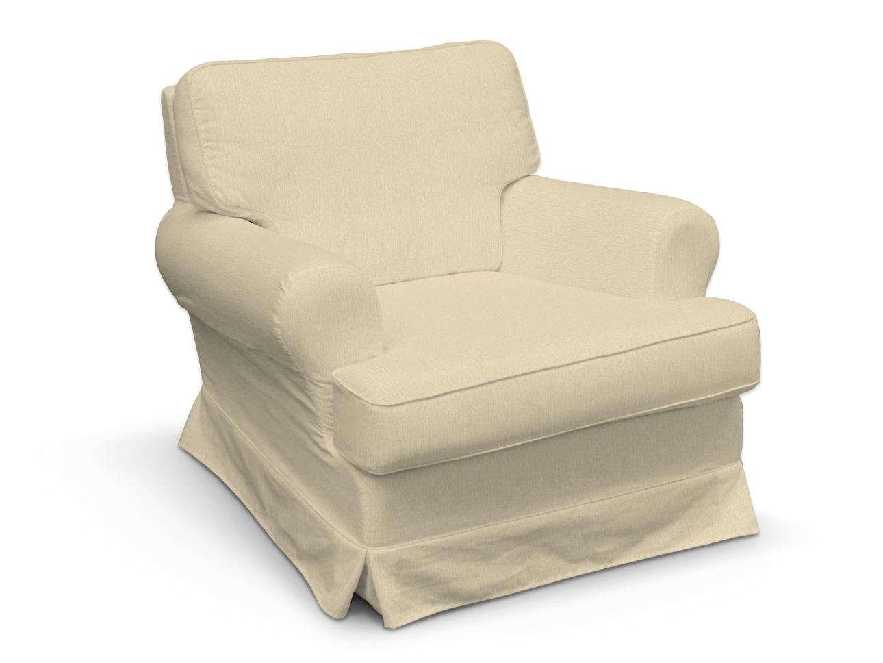 Pokrowiec na fotel Barkaby fotel Barkaby w kolekcji Chenille, tkanina: 702-22