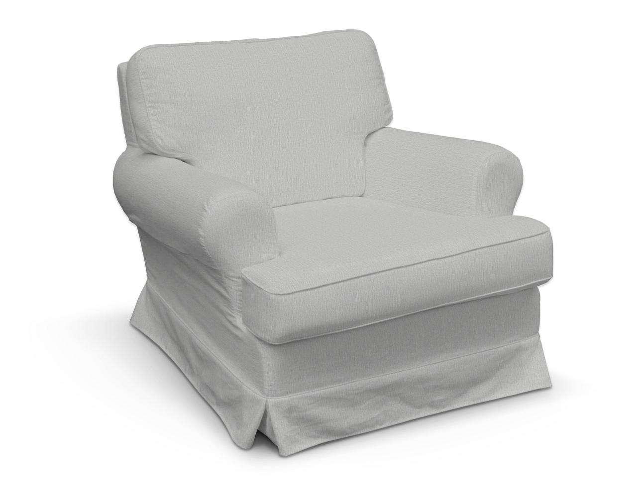 Pokrowiec na fotel Barkaby w kolekcji Chenille, tkanina: 702-23