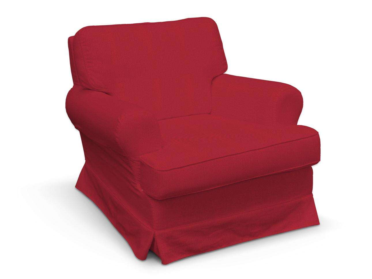 Pokrowiec na fotel Barkaby fotel Barkaby w kolekcji Chenille, tkanina: 702-24
