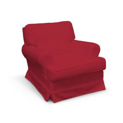 Pokrowiec na fotel Barkaby w kolekcji Chenille, tkanina: 702-24