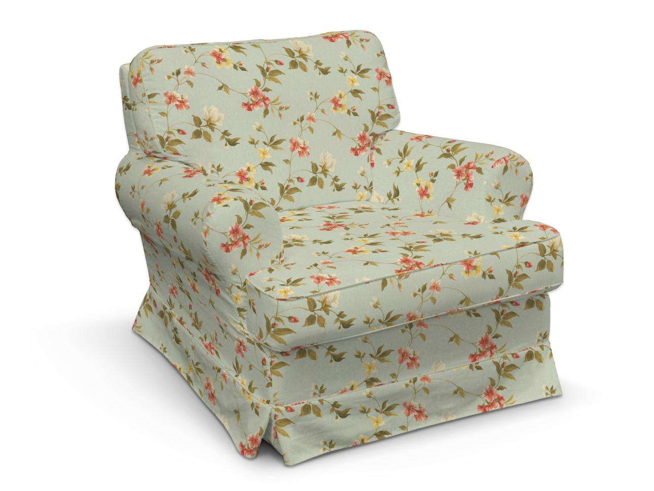 Barkaby armchair cover in collection Londres, fabric: 124-65