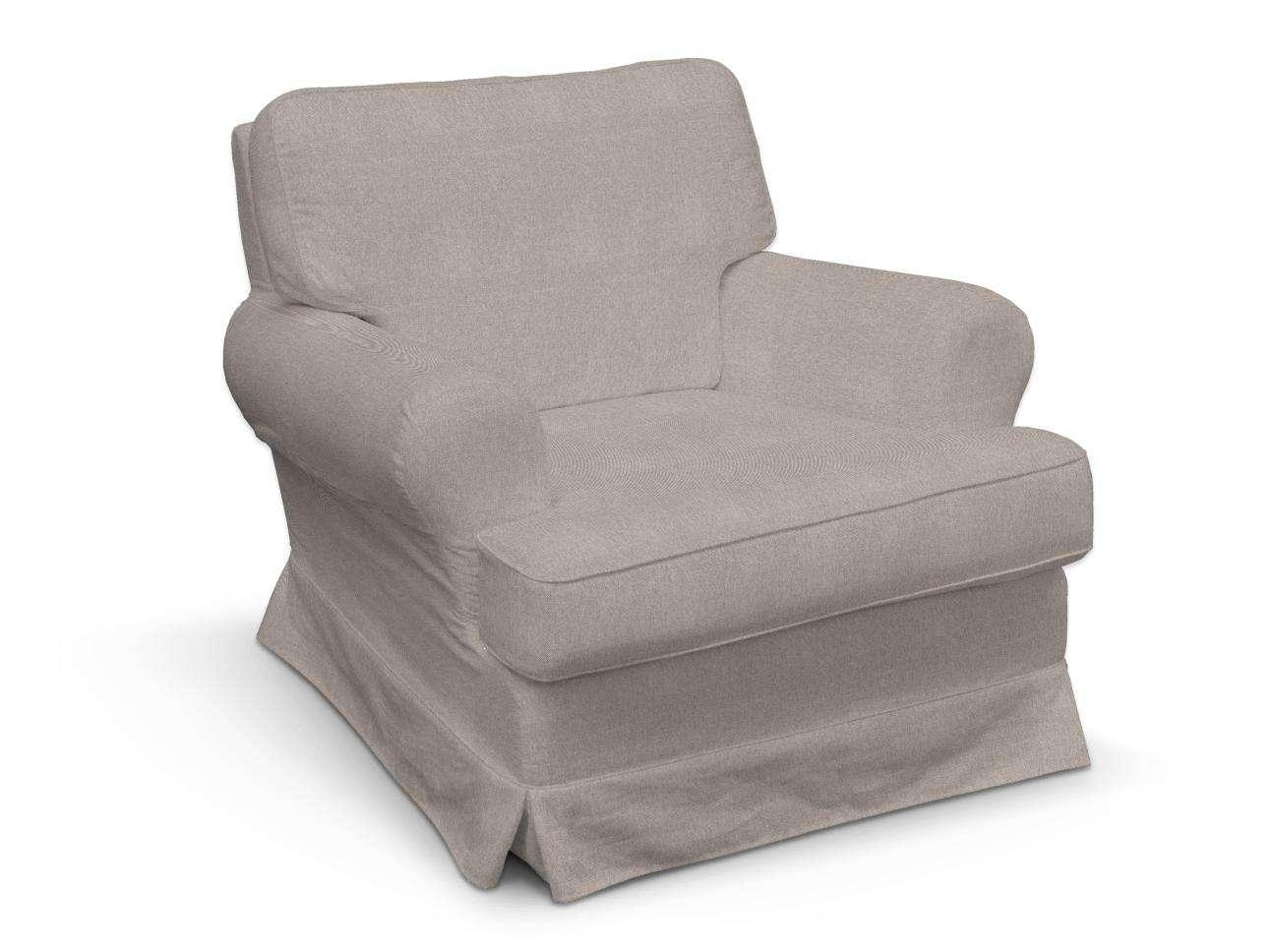 Pokrowiec na fotel Barkaby w kolekcji Etna , tkanina: 705-09