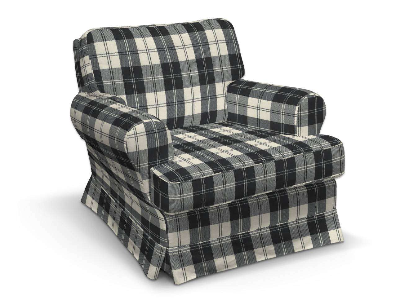 Pokrowiec na fotel Barkaby fotel Barkaby w kolekcji Edinburgh, tkanina: 115-74