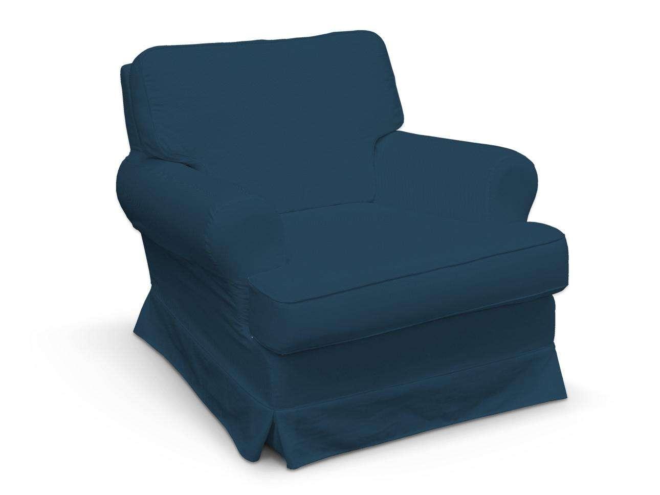 Pokrowiec na fotel Barkaby fotel Barkaby w kolekcji Cotton Panama, tkanina: 702-30