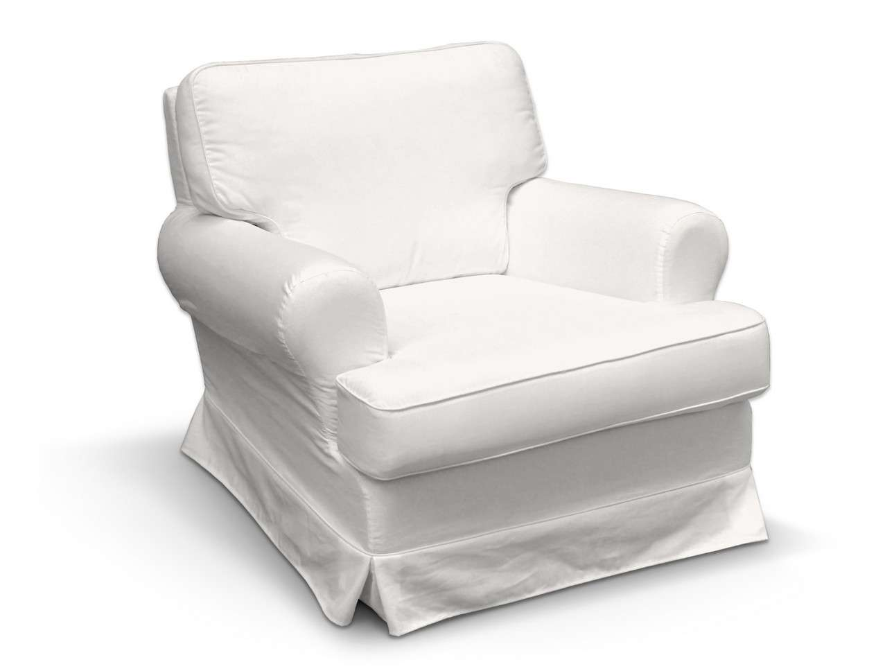 Pokrowiec na fotel Barkaby fotel Barkaby w kolekcji Cotton Panama, tkanina: 702-34