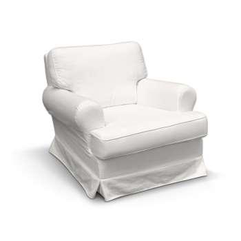 Pokrowiec na fotel Barkaby w kolekcji Cotton Panama, tkanina: 702-34