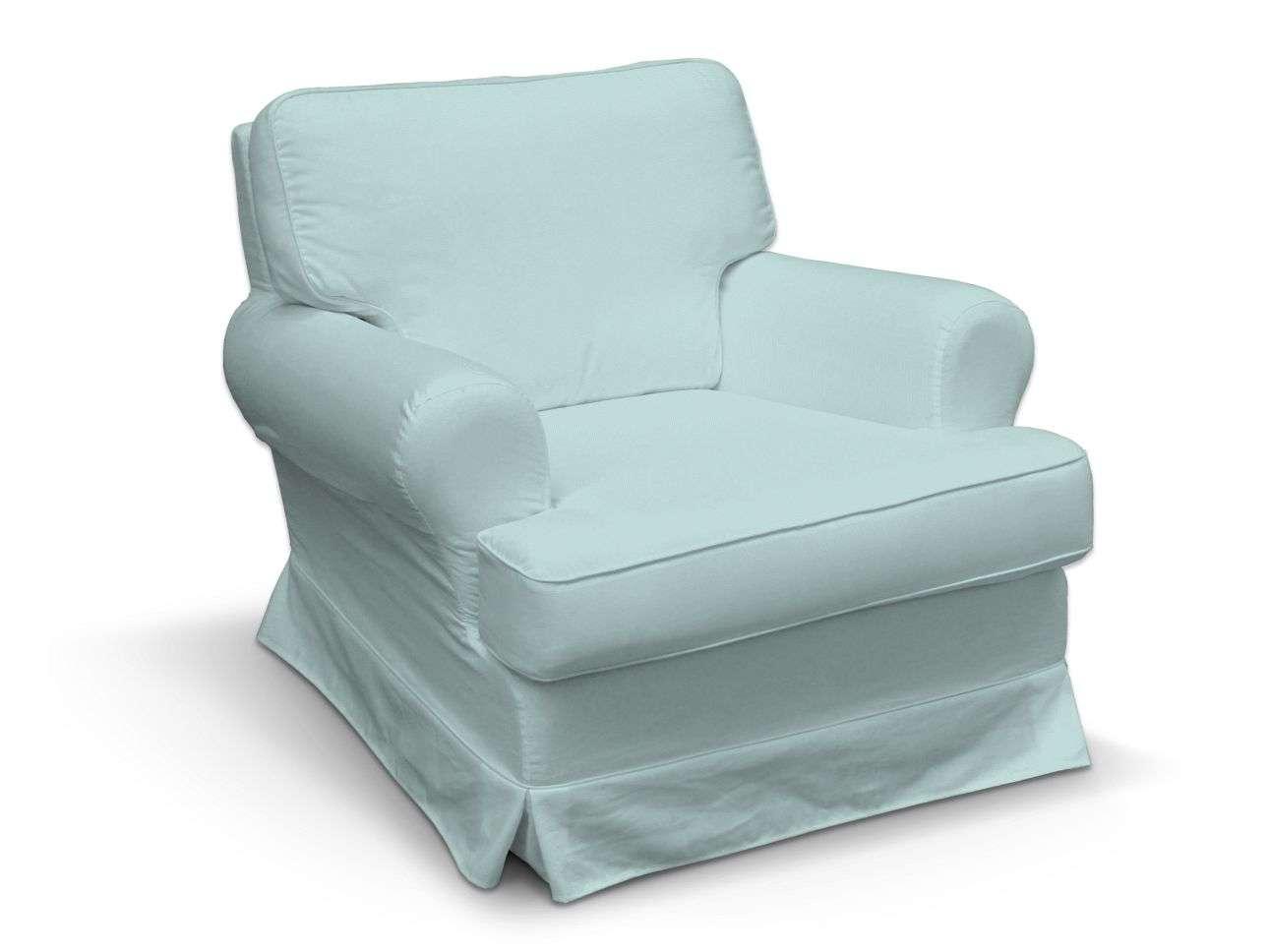 Pokrowiec na fotel Barkaby fotel Barkaby w kolekcji Cotton Panama, tkanina: 702-10