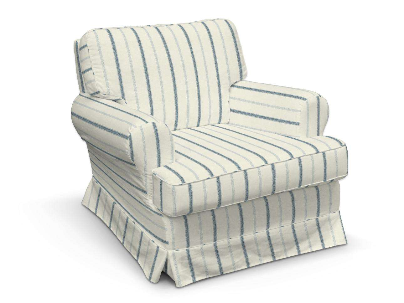 Pokrowiec na fotel Barkaby fotel Barkaby w kolekcji Avinon, tkanina: 129-66