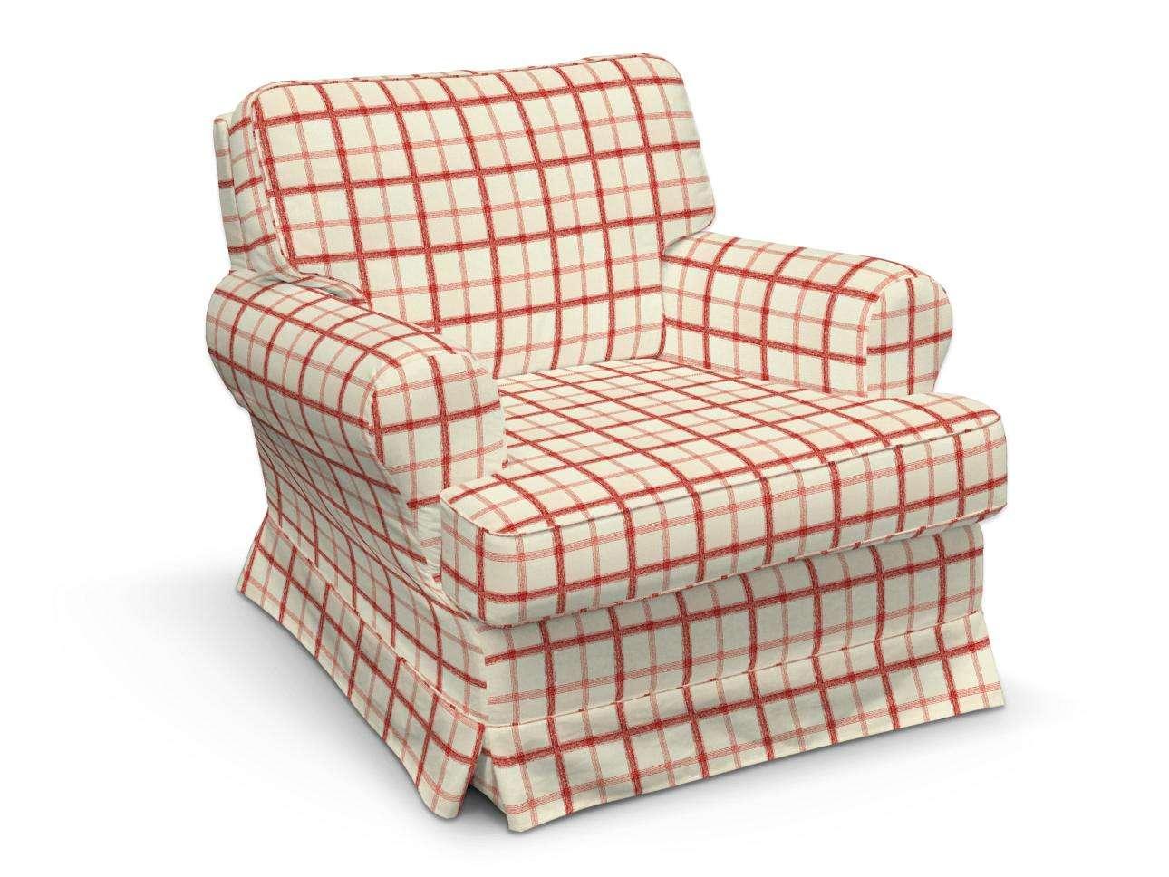 Pokrowiec na fotel Barkaby fotel Barkaby w kolekcji Avinon, tkanina: 131-15