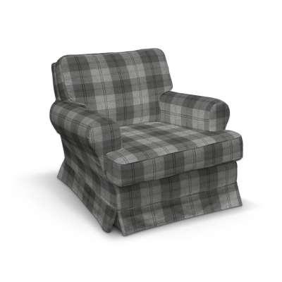Barkaby fotelio užvalkalas 115-75 tamsiai pilka Kolekcija Edinburgh