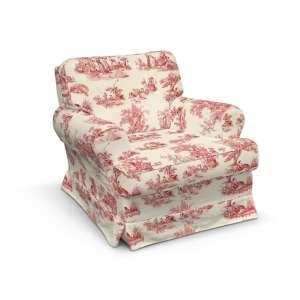 Pokrowiec na fotel Barkaby fotel Barkaby w kolekcji Avinon, tkanina: 132-15
