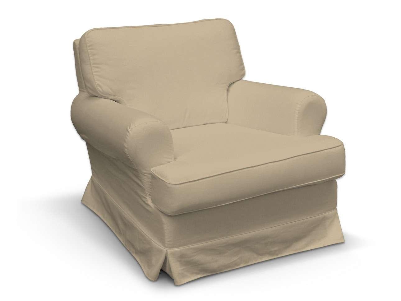 Pokrowiec na fotel Barkaby w kolekcji Living, tkanina: 160-82