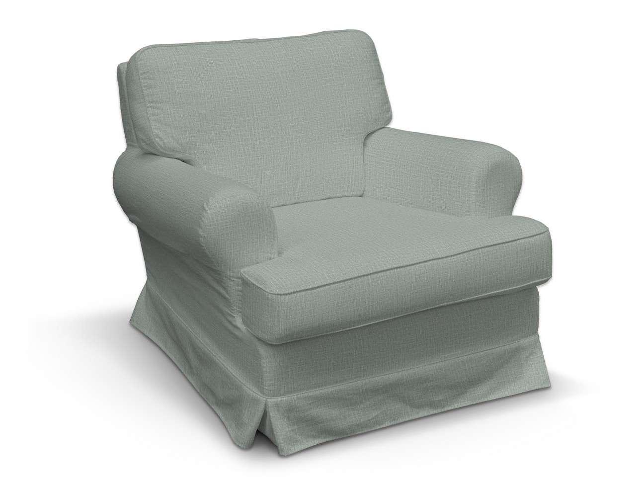 Pokrowiec na fotel Barkaby w kolekcji Living II, tkanina: 160-86