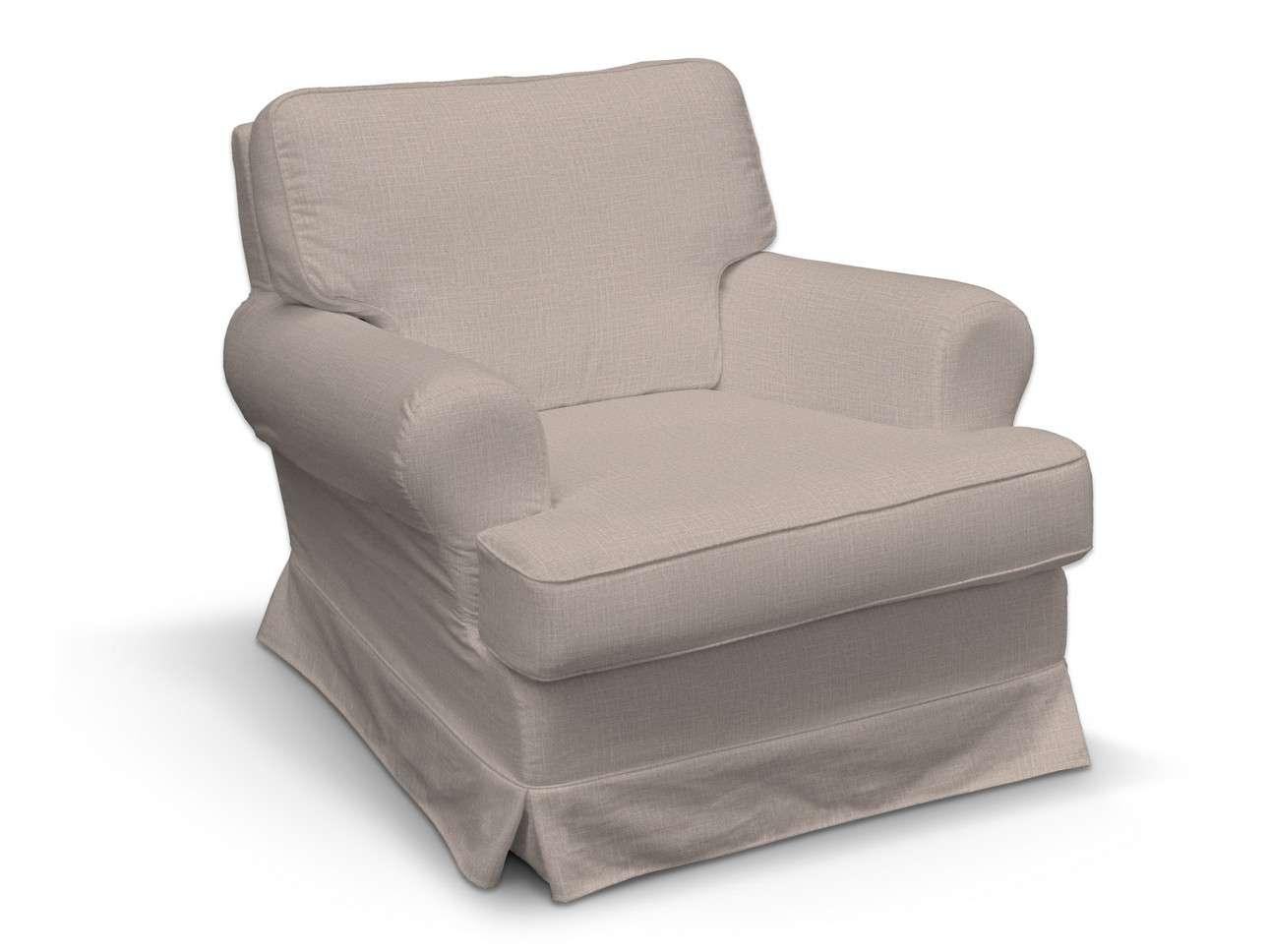 Pokrowiec na fotel Barkaby w kolekcji Living II, tkanina: 160-85