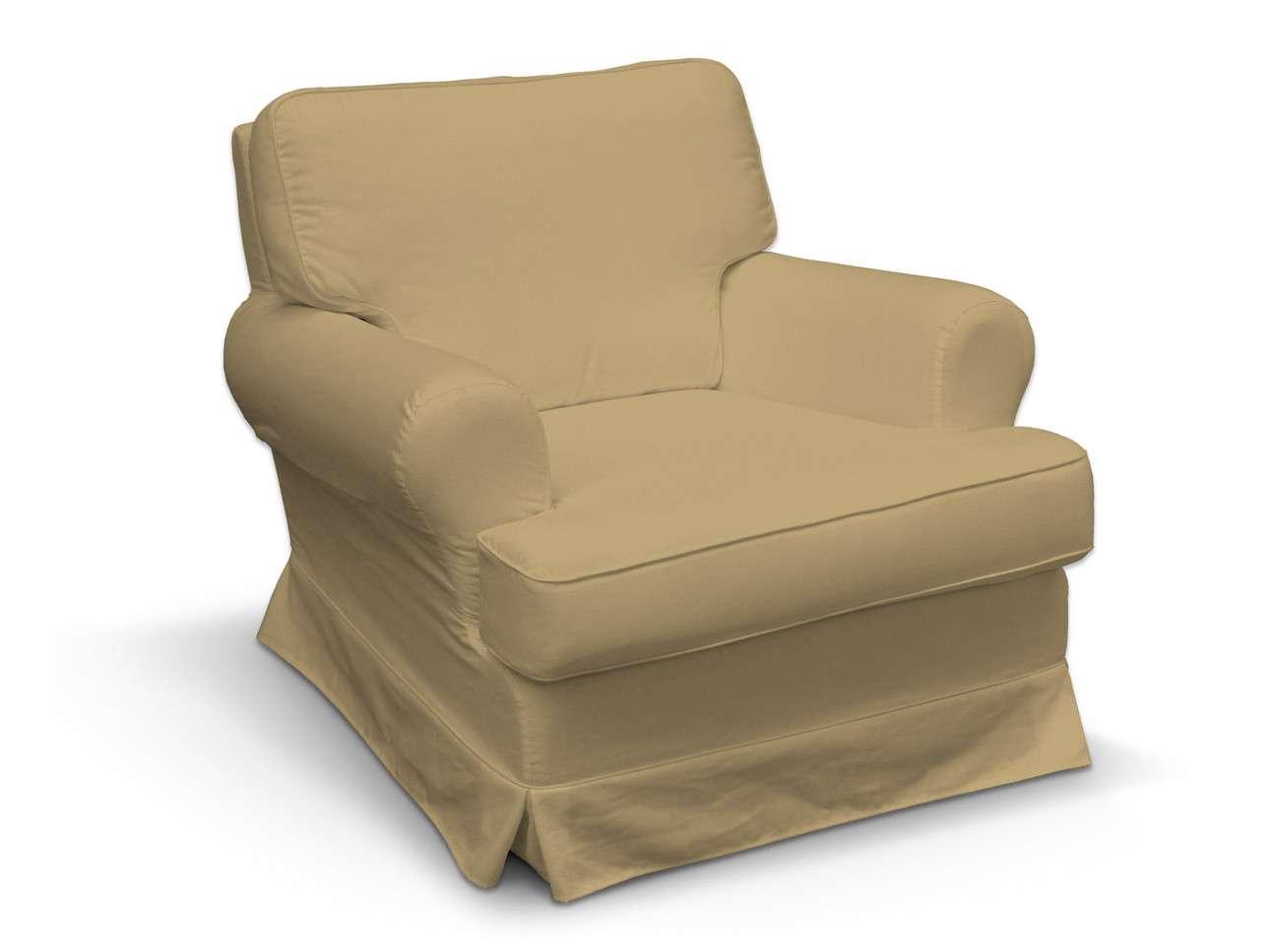 Pokrowiec na fotel Barkaby w kolekcji Living, tkanina: 160-93