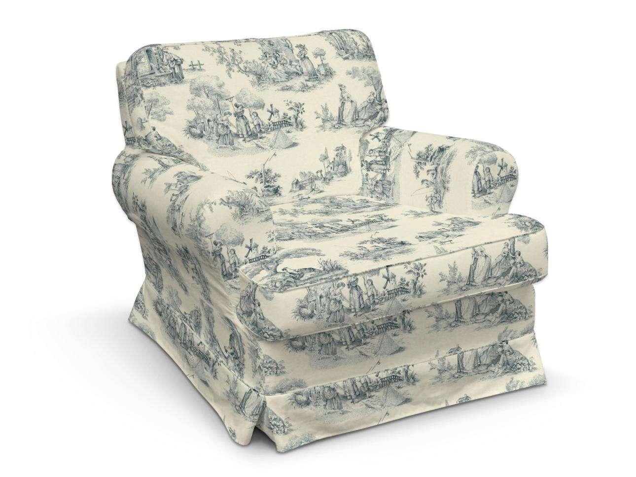 Betræk til IKEA Barkaby lænestol fra kollektionen Avinon, Stof: 132-66