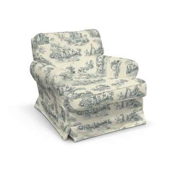 Pokrowiec na fotel Barkaby fotel Barkaby w kolekcji Avinon, tkanina: 132-66
