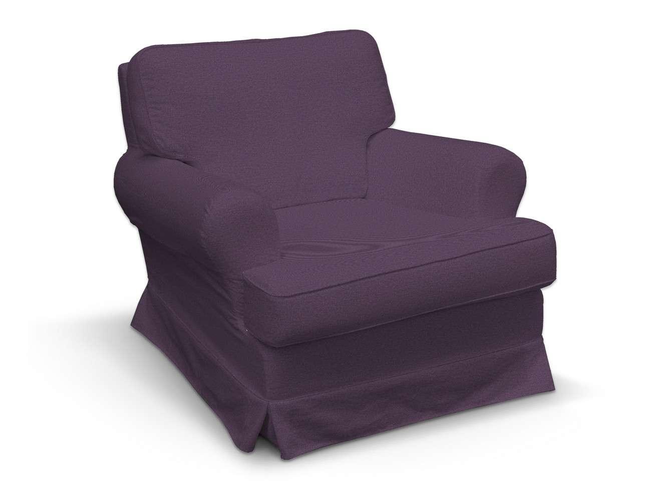 Pokrowiec na fotel Barkaby w kolekcji Etna, tkanina: 161-27