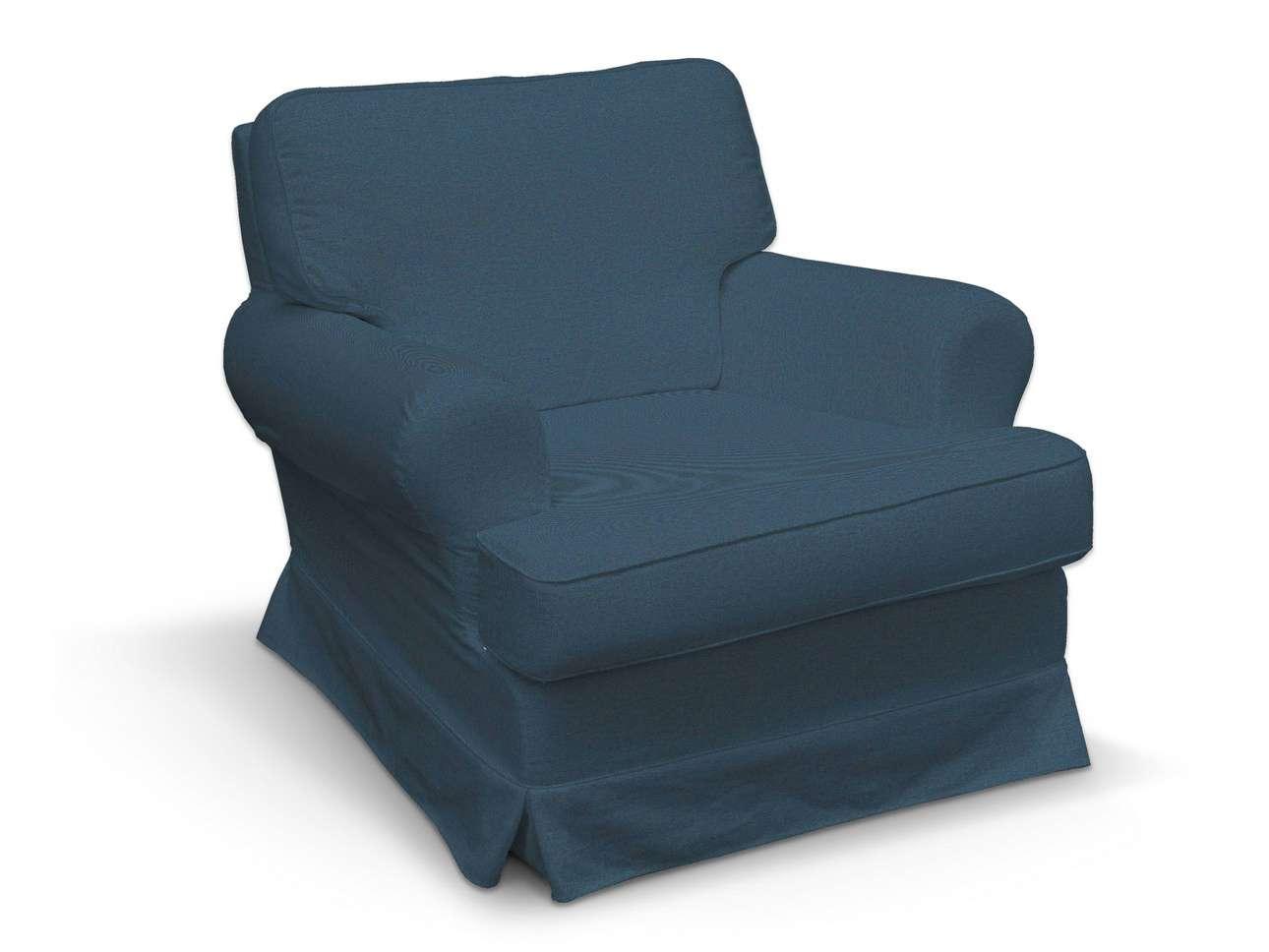 Pokrowiec na fotel Barkaby w kolekcji Etna, tkanina: 705-30