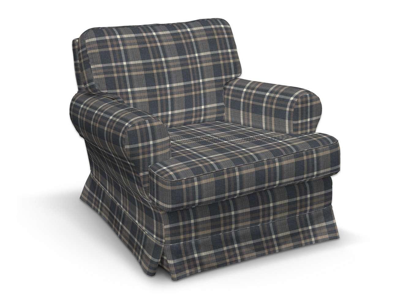 Pokrowiec na fotel Barkaby w kolekcji Edinburgh, tkanina: 703-16