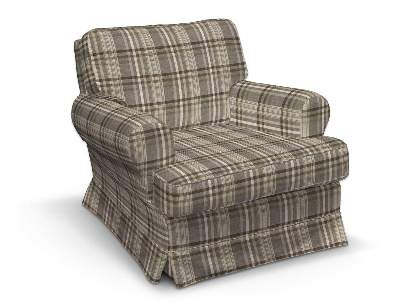 Pokrowiec na fotel Barkaby w kolekcji Edinburgh, tkanina: 703-17