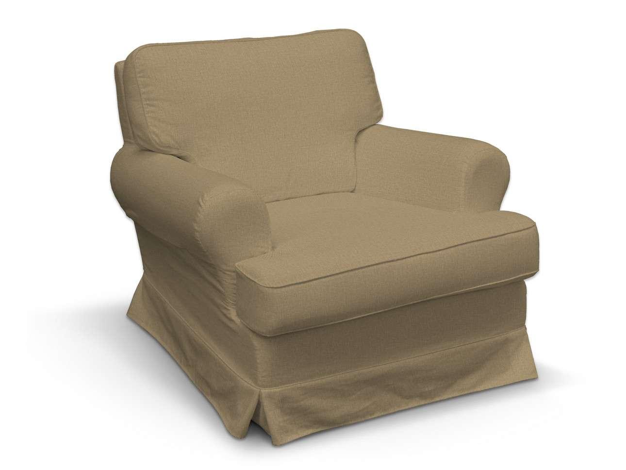 Pokrowiec na fotel Barkaby w kolekcji Living, tkanina: 161-50