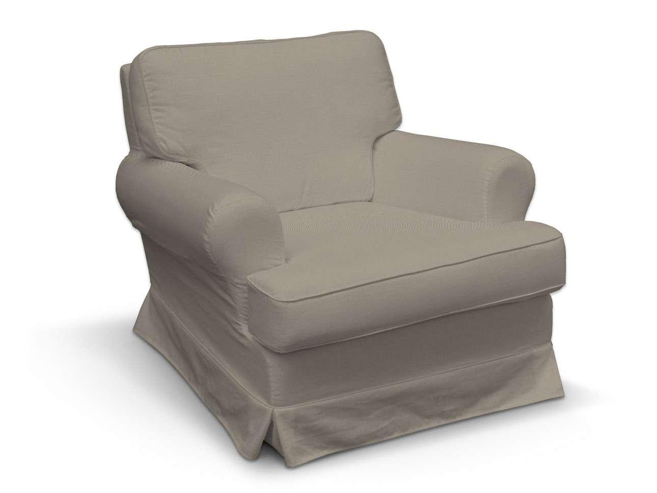 Pokrowiec na fotel Barkaby w kolekcji Living, tkanina: 161-53