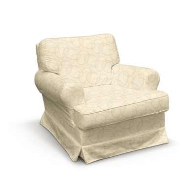 Pokrowiec na fotel Barkaby w kolekcji Living, tkanina: 161-81