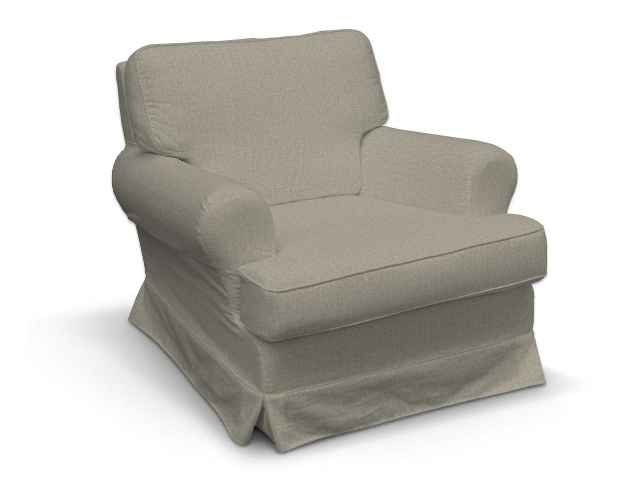 Pokrowiec na fotel Barkaby w kolekcji City, tkanina: 704-80